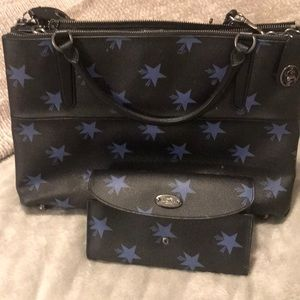 Coach Stars purse and wallet